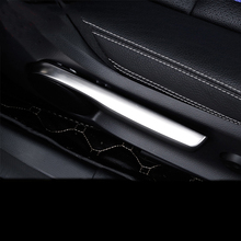 Car styling Interior Seat adjustment cover trim strips 3D Sticker for Mercedes Benz A B Class