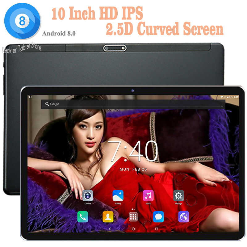 2019 Newest DHL Free 10 inch Android 8.0 tablet PC Octa Core 4G RAM 64G ROM 4G LTE Dual Sim Cards Wifi/GPS Kids tablets 10 10.1