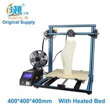 Crealit CR-10 S4 большой размер печати DIY рабочего 3D принтер 400*400*400 мм размер печати Multi- Тип нити с кровать с подогревом