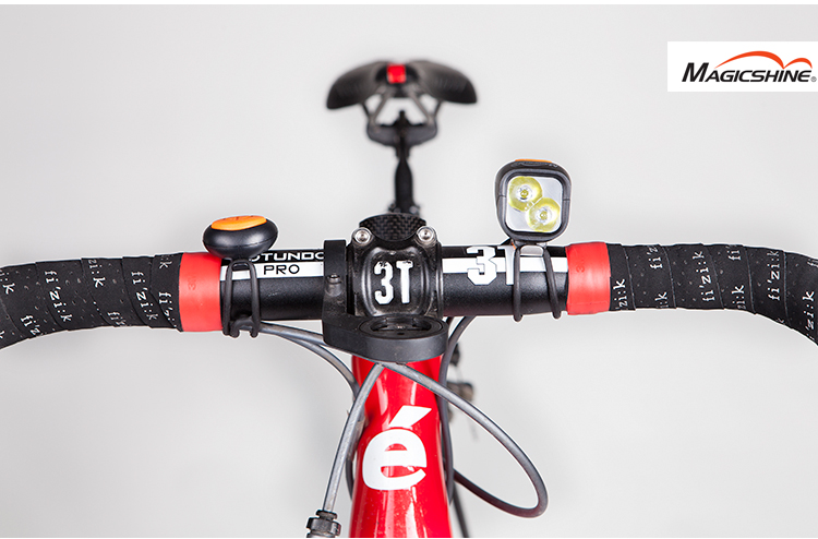 Magicshine MJ902 MJ-902 Bike Light Combo MTB, Road Cycling Headlamp High-Bright Taillight Combination 2000 Lumens USB Charging