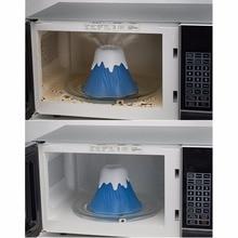 Кухня извержение вулкан очистки микроволновая печь очиститель для приготовления пищи кухня гаджет инструменты очистить за считанные минуты удовольствие