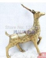 銅像銅真鍮ニホンジカ鹿装飾ニホンジカ鹿 -