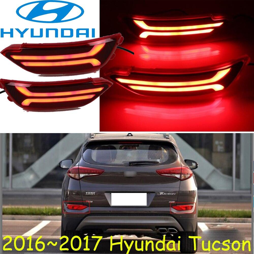 Tucson breaking light 2016 2017 Free ship LED Tucson rear light LED ix35 Tucson taillight santa