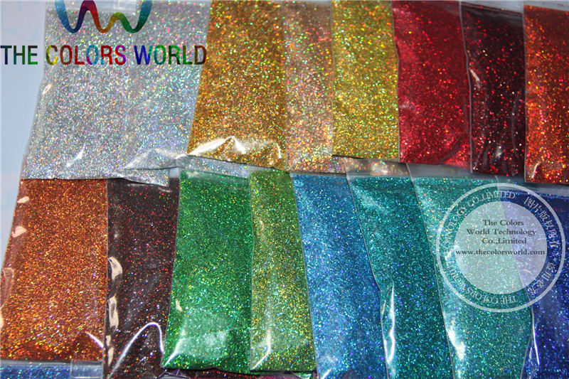 Image 3 - 24 Laser Holographic Colors 0.4MM size glitter  for nail decoration and others DIY Accessories-in Nail Glitter from Beauty & Health