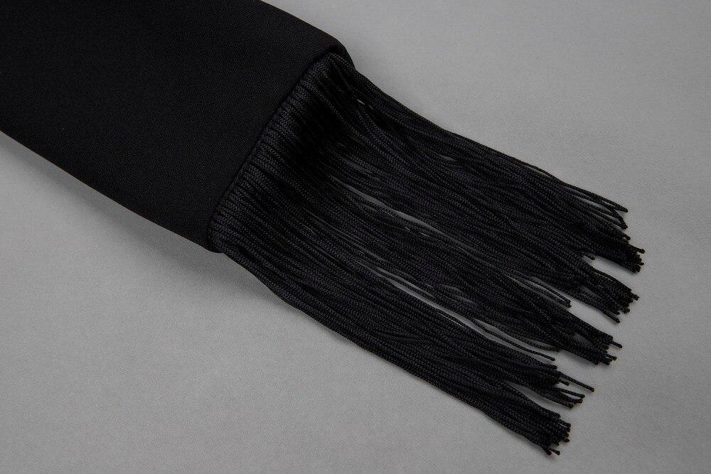 dessus B60 De cou En Gros Sexy Haute D'été Mode Robe V Qualité Mini Genou Partie Du Noir Femmes qwSHX0a