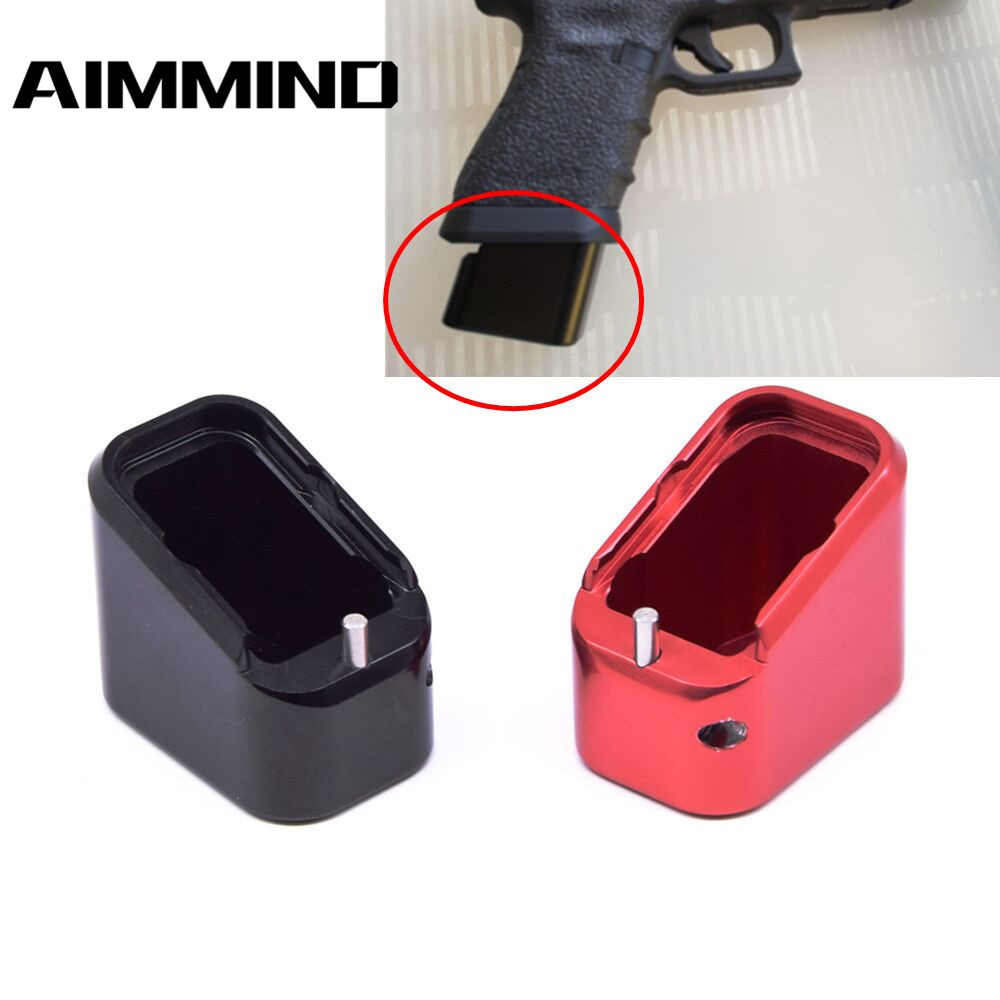 Tactical Aluminum Magazine Extension Base Pad for Smith Wesson M/&P 5//6