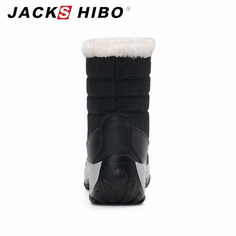 Bottes Neige Fourrure Jackshibo blue Pour Avec black De D'hiver Compensé red Chaud Talon Chaussures Femmes Mode White DYH2WE9I