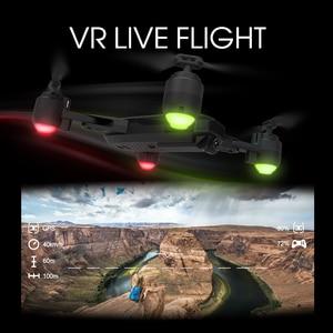Image 4 - H1GPS çift akıllı hassas konumlandırma dönen katlanır drone jest fotoğraf video uzaktan kumanda uçak
