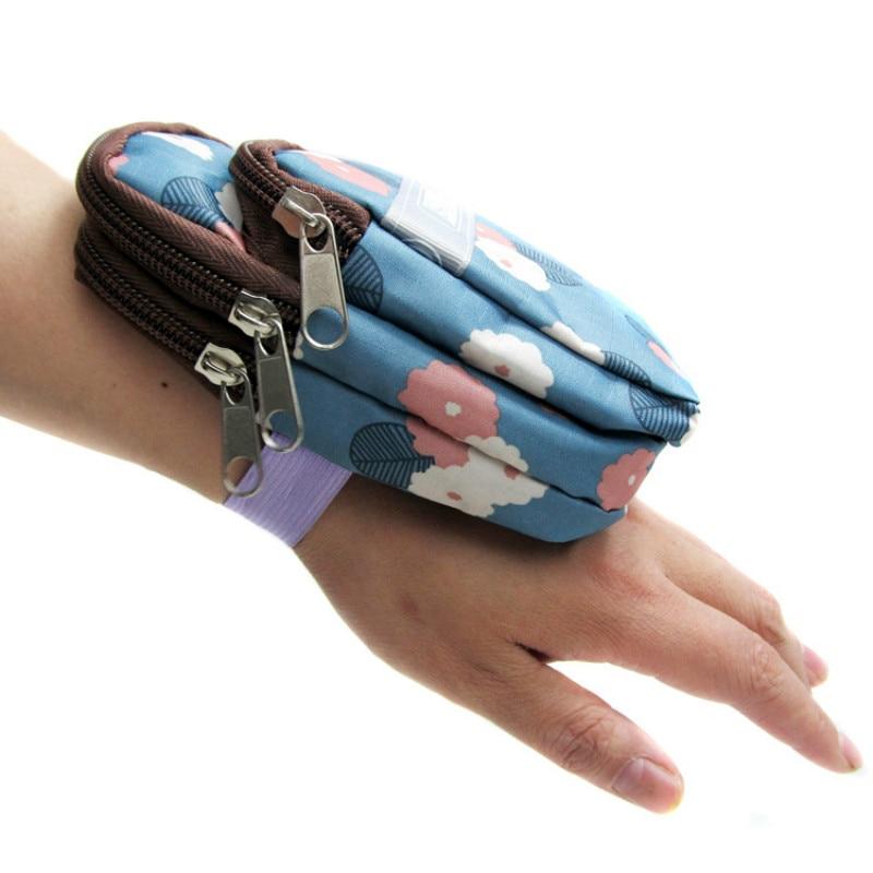 Portable Bag Wrist Bracelet Purse Handbags Arm Package