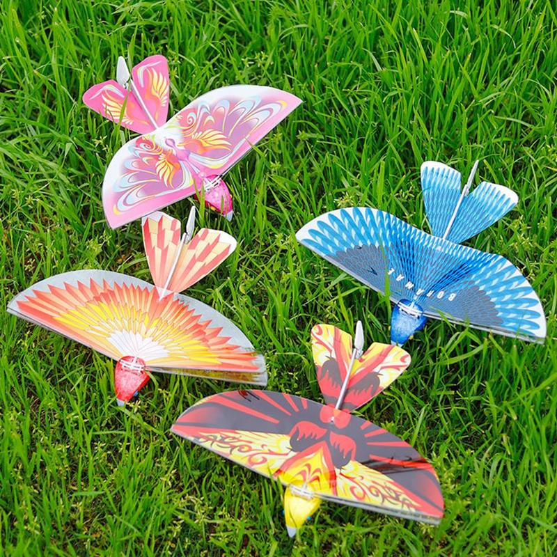 Funny Flying RC Bird Toy 2.4 GHz Remote Control E-Bird Flying Birds Electronic Mini RC Drone Toys Helicopter Kids Toy Gift