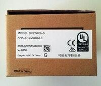 DVP06XA S Delta S Series PLC Analog I/O Module AI4 AO2