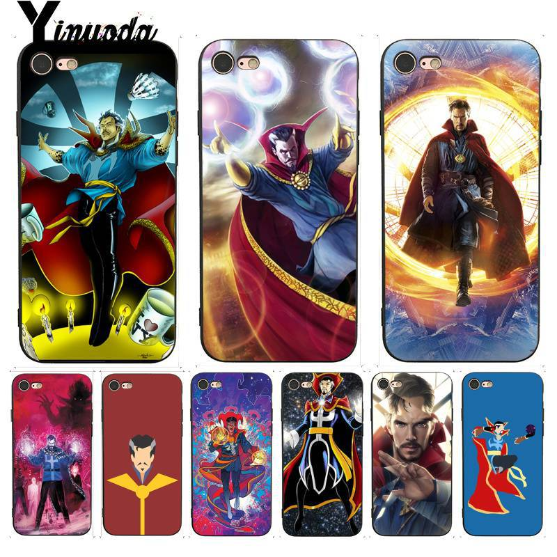 Hard-Working Yinuoda For Iphone 7 6 X Case Doctor Strange Dr Marvel Comics Remarkable Phone Case For Iphone 7 6 X 8 6s Plus 5s Se Xr Xs Xsmax Bright In Colour Cellphones & Telecommunications Half-wrapped Case