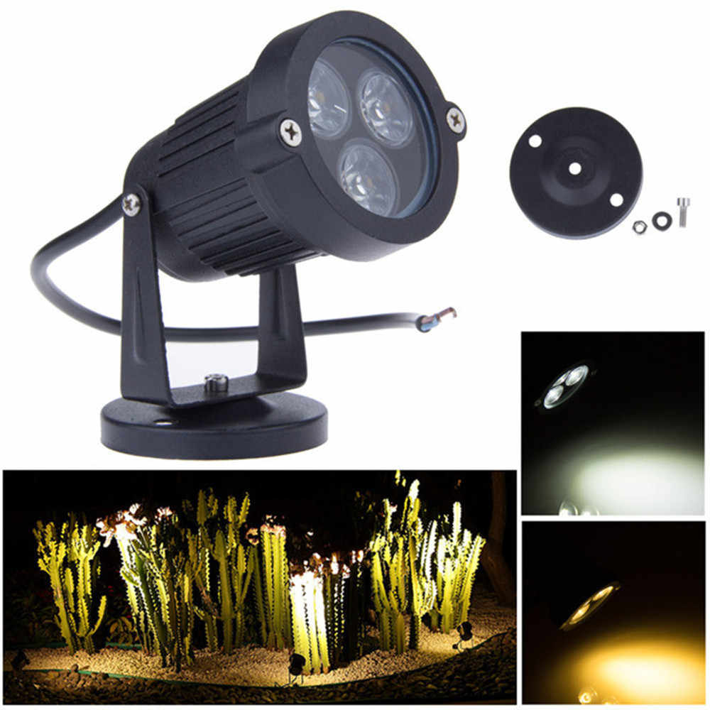 DC12V 24 V LED Gazon Lampen Landschap Licht 9 W 110 V 220 V Waterdichte Outdoor Tuin Licht Warm Wit spike LED Path Lights