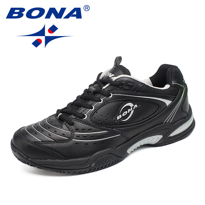 BONA New Arrival Popular Style Men Tennis Shoes Outdoor Jogging Sneakers Lace Up Men Athletic Shoes Comfortable Free Shipping bona new designer popular style men tenis shoes leather outdoor jogging shoes athletic shoes lace up trendy sneakers shoes