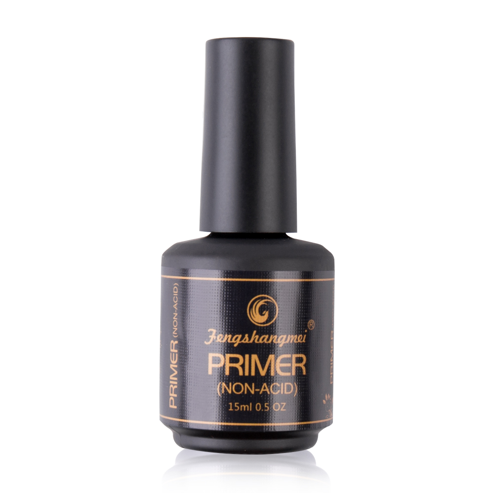 Fengshangmei 15ml Non Acid Primer For Nails Quick Dry Degreaser Professional Longer Lasting Nail Primer