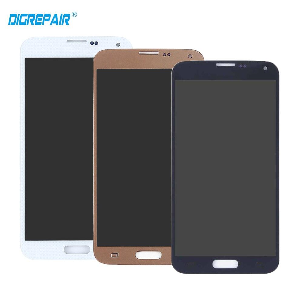 Negro de oro para Samsung Galaxy S5 neo SM-903F pantalla LCD pantalla táctil digitizador full Assembly piezas de reemplazo