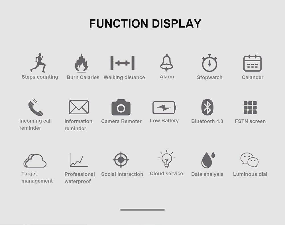 Montre intelligente numérique pour ios téléphone Android