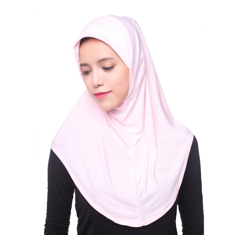 New Muslim Women Inner Hijab Headscarf Cap Islamic Full Cover Hat Underscarf Headwear Shawl 2018