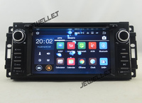 Quad Core Android 7 1 Car DVD GPS Radio Navigation For Jeep Compass Grand Cherokee Liberty