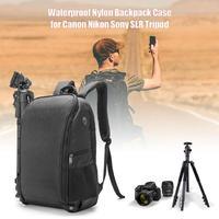 Photo Camera Bag Shoulder Digital Camera Case Waterproof w Rain Cover DSLR Soft Men Women Bag for Canon Nikon SLR Digital Camera