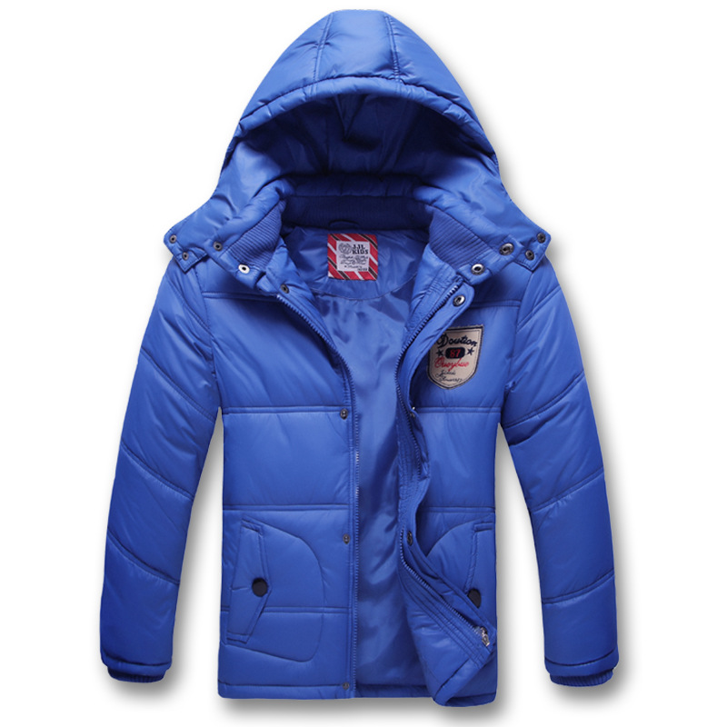 Children Outerwear Warm Coat Sporty Kids Clothes Waterproof Windproof Thicken Boys Girls Cotton-padded Jackets Autumn and Winter children autumn and winter warm clothes boys and girls thick cashmere sweaters