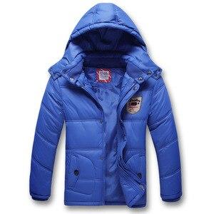 Image 1 - Manteau chaud de sport pour enfants, vestes chaudes épais imperméables et coupe vent en coton, pour garçons et filles, vestes dautomne et dhiver, vêtements dextérieur pour enfants