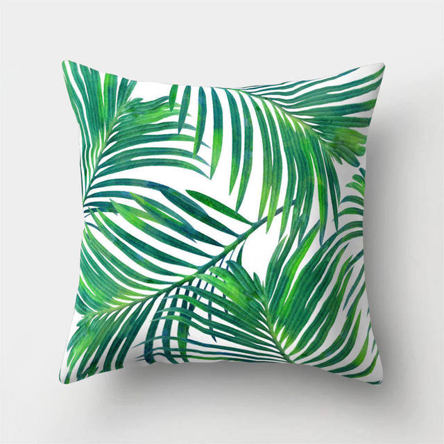 Tropical Leaves Cushion Covers 6