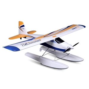 FMS 1220MM Wingspan Super EZ V2 Trainer RC Airplane With Floats RTF 2.4GHz Radio Control Model image