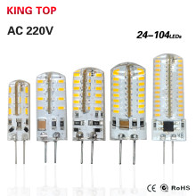 1PCS LED G4 Lamp Bulb 3014SMD AC 220V 3W 9W LED Lights Replace 15-20W Halogen Lamp Full Lustre Chandelier Lighting Focos Luz Led(China)