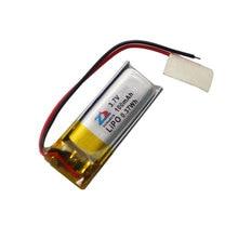 Dans 100 mAh 401025 3.7 V au lithium polymère batterie 401125 Bluetooth micro dispositif avec le panneau de protection Rechargeable Li-ion Cellulaire