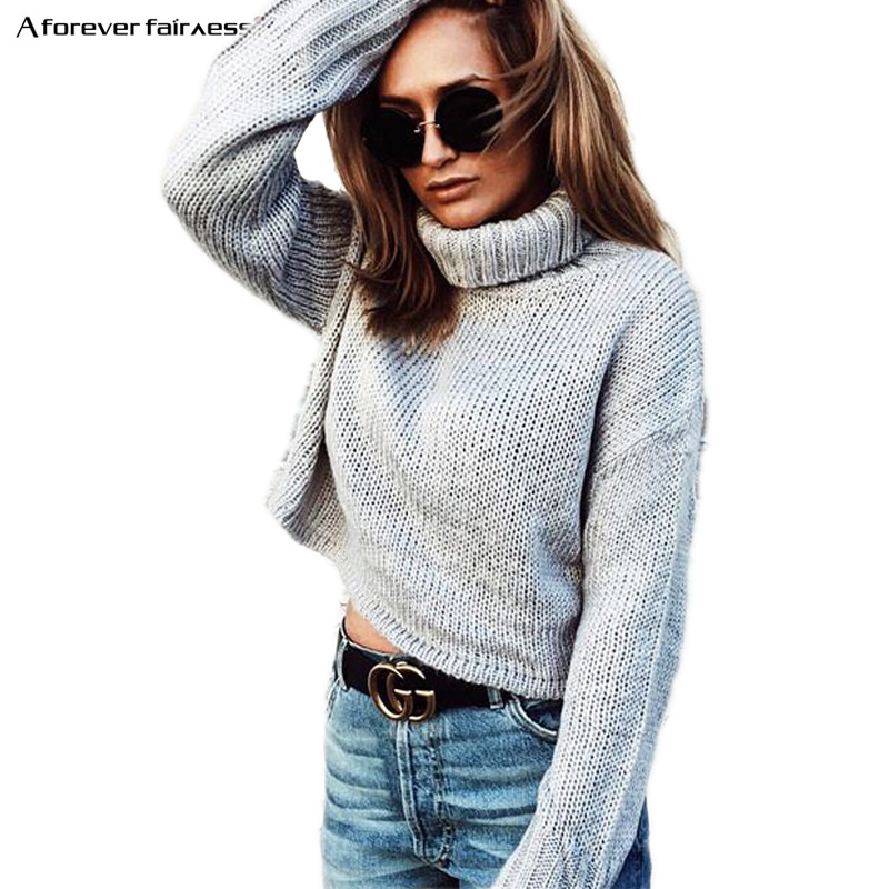 Короткий свитер с м
