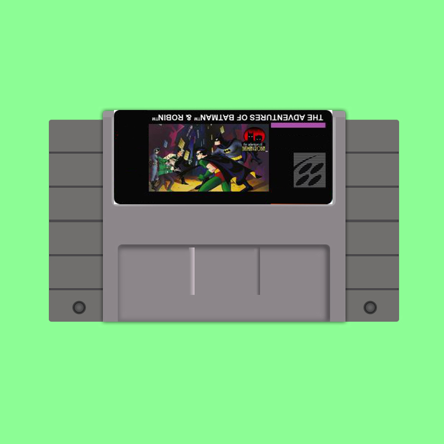 New arrival 16bit super game card Adventure of Batman and Robin image