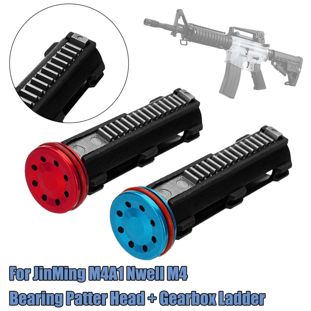 Подшипник рисунок головы с распределительной коробкой лестница для Jinming/M4A1/nwell/M4 игрушка Пистолеты Шестерни коробка лестница подшипник рисунок головы