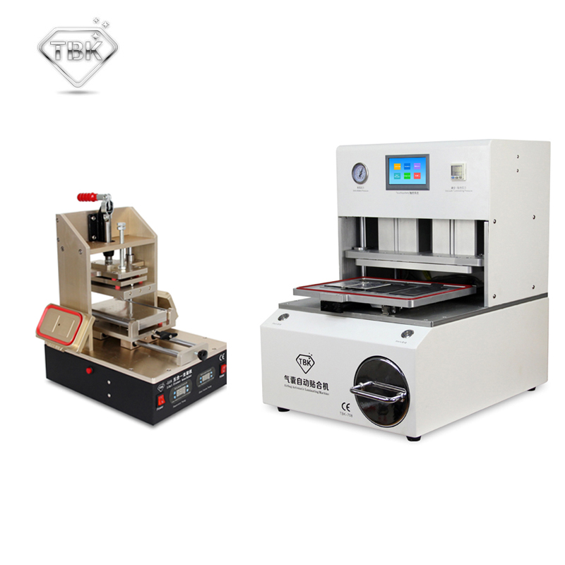 лучшая цена TBK-518 Vacuum LCD Separator/Glue Remover TBK-708 OCA LCD Laminating Machine Lcd Repair Machine Refurbish Solution