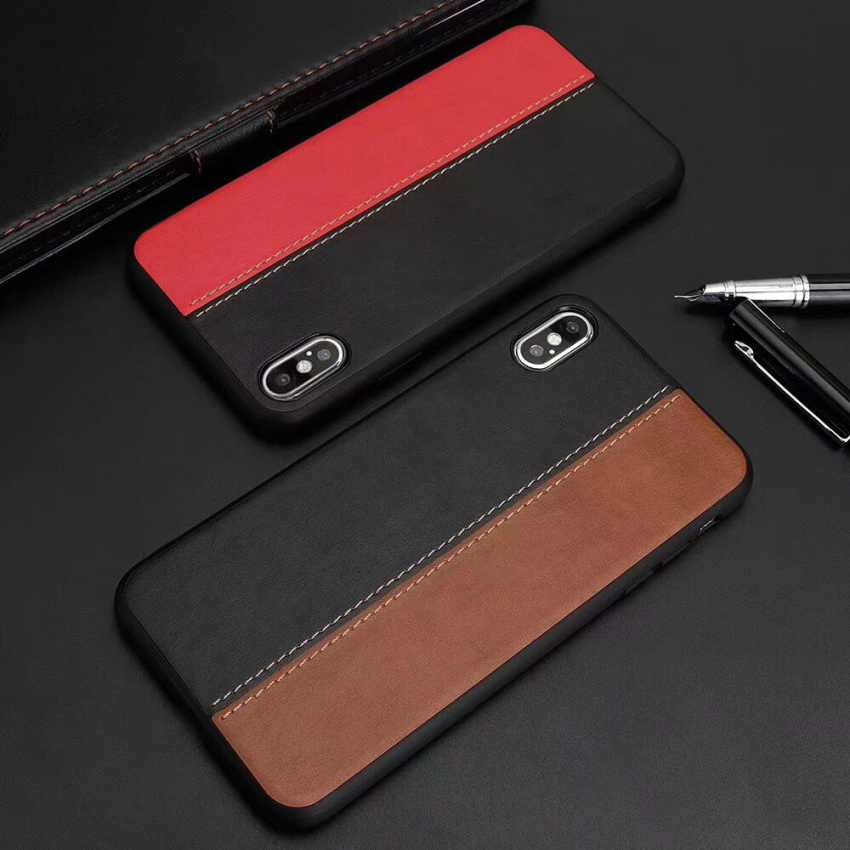 6c10675eede3 Ultra Slim Phone Case For iPhone 6 6s 7 8 Plus PU leather Cases soft PC