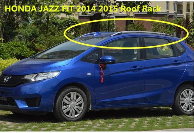 Honda Fit Roof Rack >> For Honda Jazz Fit 2014 2017 Roof Rack Rails Bar Luggage Carrier