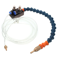 1pc High Quality Mist Coolant Lubrication Spray System For 8mm Air Pipe CNC Lathe Milling Drill