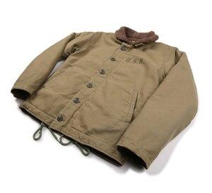 Image 5 - NON STOCK Khaki N 1 Deck Jacket Vintage USN Military Uniform For Men N1