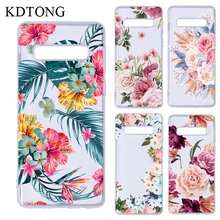 KDTONG Phone Case sFor Samsung Galaxy S10 Plus S 10 Transparent Soft Silicone TPU Cover For S10E