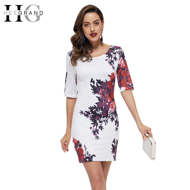 Women Dresses 2016 Summer New Fashion Floral Print Vintage Mini Dress Elegant Casual Sexy