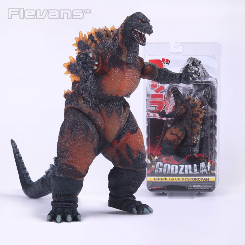 цена NECA Godzilla Movie 1995 Godzilla vs Destoroyah PVC Action Figure Collectible Model Toy