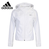 Original New Arrival 2018 Adidas NEO W EMBRD ZIP HDY Women's Running Jacket Hooded Sportswear