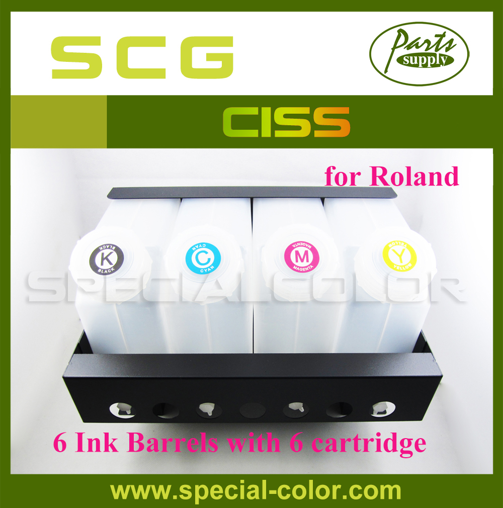 New Roland Ink Supply System CISS 6*6 Printer CISS (6X6) roland cube 10gx