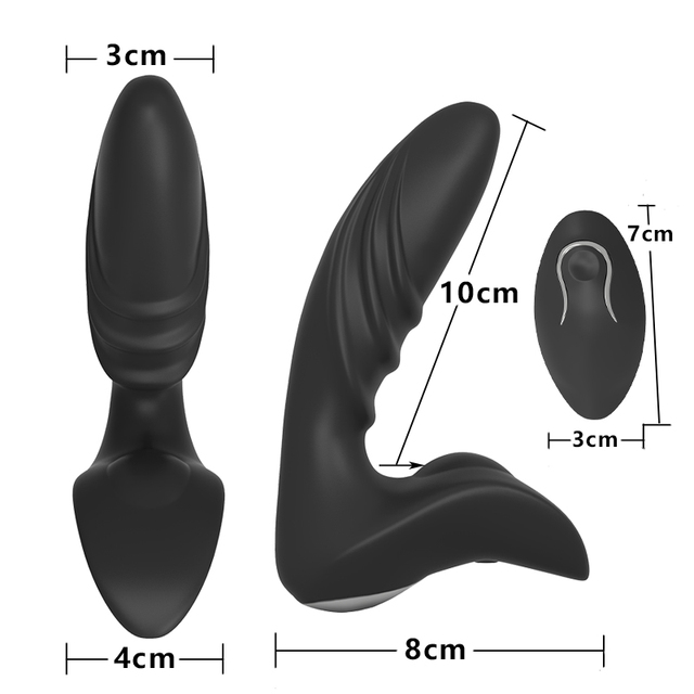 WIRELESS PROSTATE MASSAGER DILDO VIBRATOR