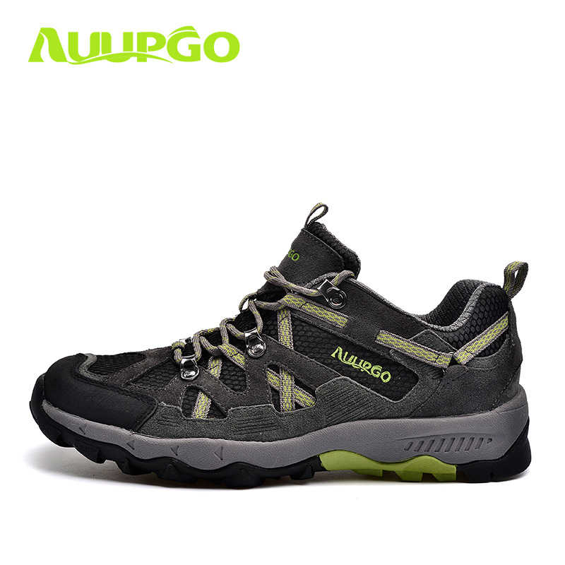 Waterproof Hiking Shoes For Men 2016 New Outdoor Breathabnle Hiking Trekking Shoes Sports Climbing Mountaineering Shoes Man 2016 man women s brand hiking shoes climbing outdoor waterproof river trekking shoes