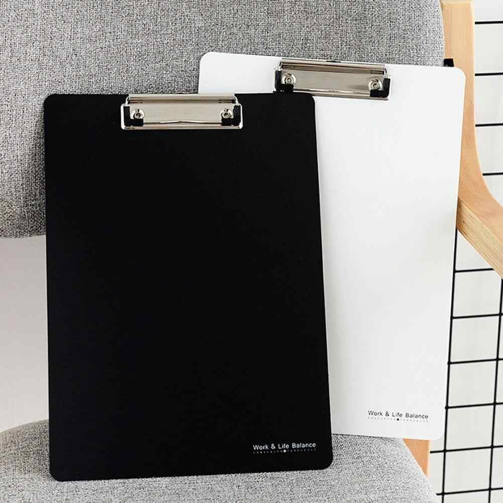 1 pieza nueva de alta calidad para escribir portapapeles A4 portapapeles para escribir carpetas de archivos