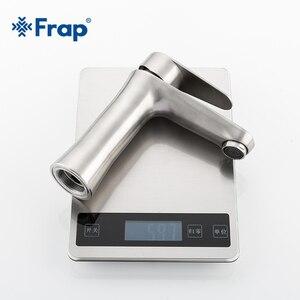 Image 5 - Frap смеситель из нержавеющей стали 304, смеситель для раковины Torneiras Monocomando Vanity смеситель для горячей и холодной воды смесители для ванной комнаты F1048