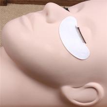 Pro Training Mannequin Flat Head Practice Make Up Eye Lashes Eyelash Extensions