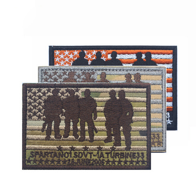 9*6CM Mark SEAL TEAM Operation Red Wings Lone Survivor Spartan 01 SDVT-1A STICK-ON Patch