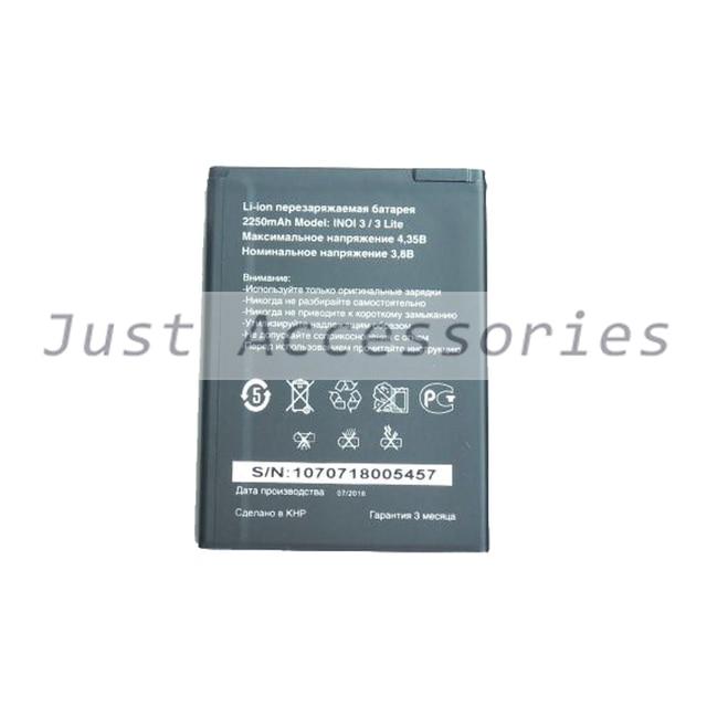 Baterias de Polímero De 2250 mAh Bateria Do Telefone Móvel Inteligente Para INOI 3/3 INOI3 Lite lite
